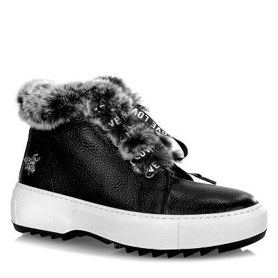 Sneakersy Venezia 20620190277 BLAC Czarne