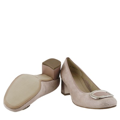 Czółenka Ara Shoes - 12-35548 Puder