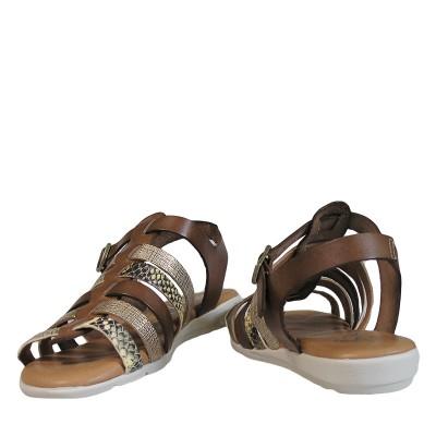 Sandały SPK Shoes 2364 / F Pit Giallo