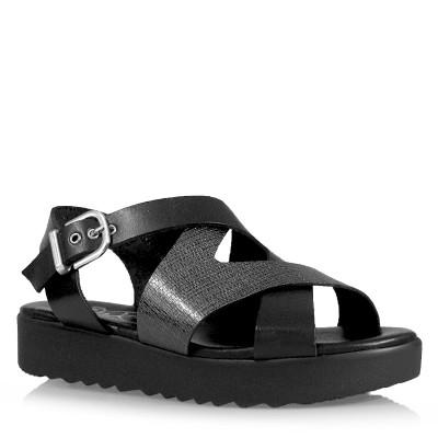 Sandały SPK Shoes 2330/F Vaq/Kendal Negro-Antracita