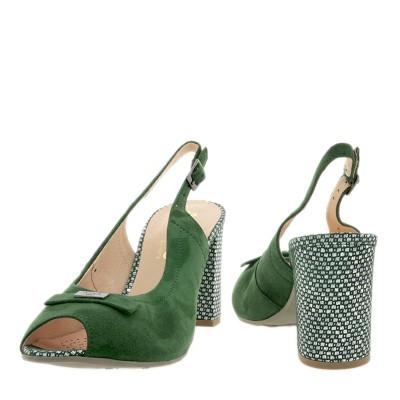 Sandały Bioeco by Arka BI 3786 Zielone