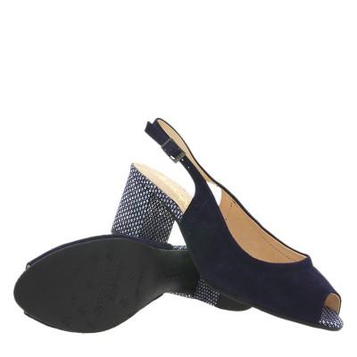 Sandały Bioeco by Arka BI 3760 Granatowe