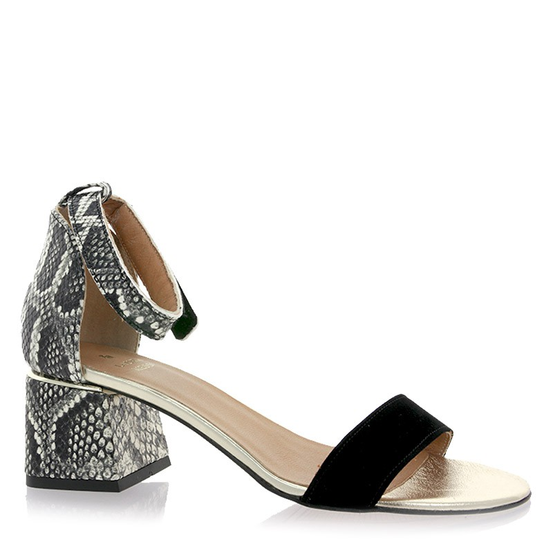 Sandały Laura Messi 2146 Czarne