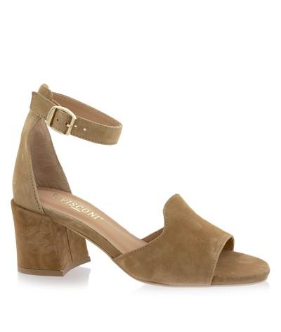 Sandały Visconi 4370181/131 Brązowe