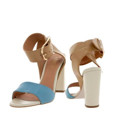 Sandały Visconi 4223257/257 Beż Niebieski
