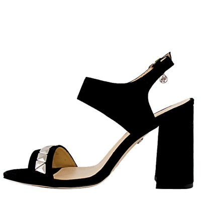Sandały Solo Femme 60815-13-020/000-07-00 Czarne
