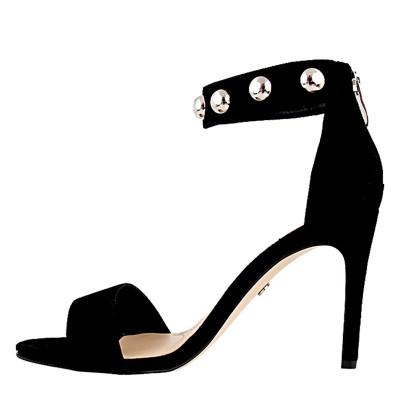 Sandały Solo Femme 26475-53-020/000-07-00 Czarne