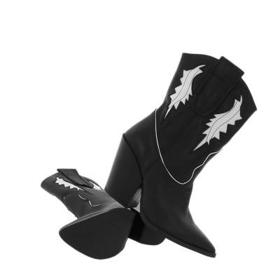Kowbojki Maccioni 157 Czarne
