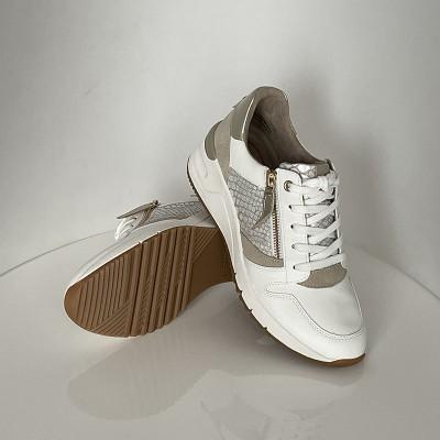 Sneakersy Tamaris 1-23702-26 WHT LT.Gold