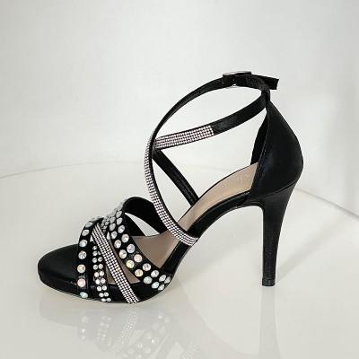 Sandały Menbur 22366 Negro