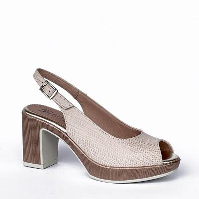 Sandały Pitillos 2222 Nude