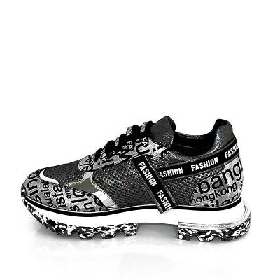 Sneakersy Emi Romani 242-4418 Srebrne