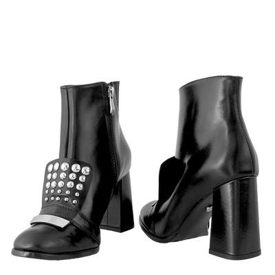 Botki Solo Femme 45620-31-I12/000-13-00 Czarny