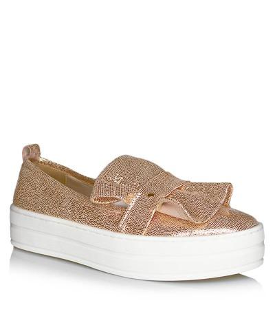 Sneakersy Ulmani Shoes 18524A Złote