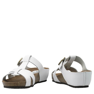 Klapki SPK Shoes 903 Vaquetilla Blanco