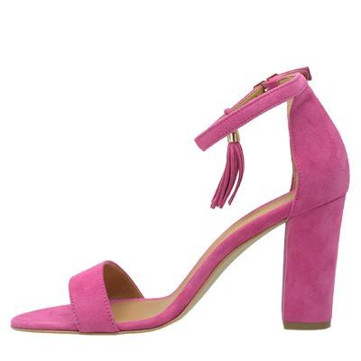 Sandały Ulmani Shoes 17632 Różowe