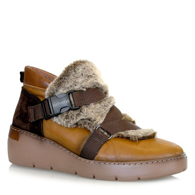Sneakersy Hispanitas HI99249 Mustatard Brown